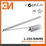 Façade de medias de DEL allumant le tube linéaire Ce/UL/RoHS (L-233-S60-RGB)