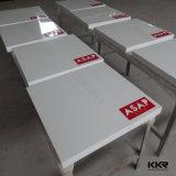 Corianの現代光沢のある固体表面の大きいダイニングテーブル(T1703049)