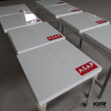 Moderner weißer Glanz-fester Oberfläche 4 Seater Abendtisch (T1612196)