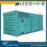 Behälter 100kw/125kVA Deutz elektrisches Dieselgenerator-Set mit Stamford Drehstromgenerator