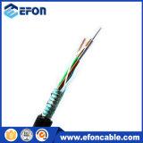 Dirigir o cabo Singlemode blindado enterrado da fibra óptica 8core