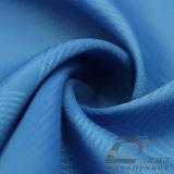 Agua y de la ropa de deportes tela tejida chaqueta al aire libre Viento-Resistente 100% del filamento del poliester del telar jacquar de la tela escocesa abajo (E024)