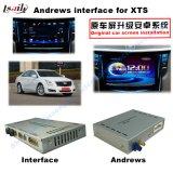 De VideoInterface van het Systeem van de navigatie voor Cadillac Srx, Xts, de Navigatie van de Aanraking van de Verbetering van ATS (het SYSTEEM van het RICHTSNOER van de Auto), WiFi, BT, Mirrorlink, HD 1080P, Google Kaart, de Opslag van het Spel