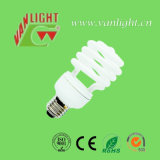Meia lâmpada de poupança de energia CFL da espiral T2-25W