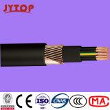 кабель оболочки PVC изоляции 6/10kv Yxc7V-R (TS) XLPE медный, кабель N2xsy VDE0276