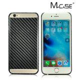 Cubierta verdadera de la caja de la fibra del carbón de los productos el 100% del fabricante de China la mejor para el iPhone 7 más