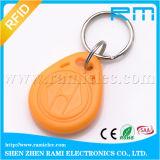 専門の防水125kHz RFID主Fobの札