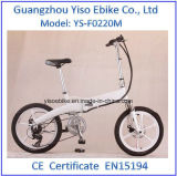 20 дюймов Wholesale Folding Ebikes с Magnesium Alloy Wheel