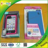 Imballaggio libero dello strato della bolla con la scheda di carta per il caso mobile