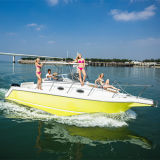 30 het Jacht van de Visserij van de Boot van de Luxe van de Sport van de ' Van Certificatie Ce Snelheid van de Glasvezel