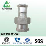 Inox de bonne qualité mettant d'aplomb l'acier inoxydable sanitaire 304 couplage convenable des syndicats de 316 presses
