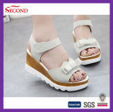Madame en cuir Sandals Shoes de Faux