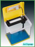 Serbatoio di vetro da tavolino dell'impresa di piscicolture dell'acquario da vendere con il filtro interno, LED (HL-ATD85)
