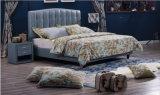 Кровати короля Размера Heardboard Мягк Кожи мебели спальни в Китае