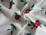 Poliestere Printing Spandex Fabric chiffon per Skirt