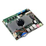 Motherboard van de Ventilator van het Atoom van Intel L2 Geheim voorgeheugen Ingebedde Motherboard met 4*USB