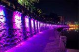 18W couleur imperméable à l'eau linéaire blanche de ville de l'alliage d'aluminium DEL