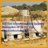 Do minério aluvial do ouro do rio do Placer centrifugador de lavagem