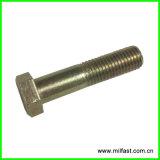 Болт DIN 933 головки шестиугольника нержавеющей стали