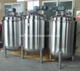 Acero inoxidable de mezcla de fermentación del tanque