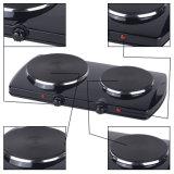 2 Brenner-elektrischer Kocher-bewegliche heiße Platte für Verkauf