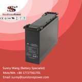 Batterie rechargeable d'acide de plomb d'UPS scellée par gel exempt d'entretien de 12volt 100ah