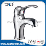 S Shape 20cm Length Single Handle Sink Faucet