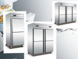 4 Küche-Speicher-Kühlraum der Tür-S/S kommerzieller aufrechter