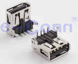 USB2.0 Male 또는 Female Connector Right Angle