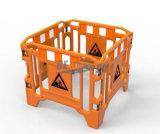 PEのプラスチックトラフィックのゲート作業障壁