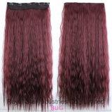 Estensione profonda dei capelli dell'onda dei capelli naturali popolari del Virgin con la clip