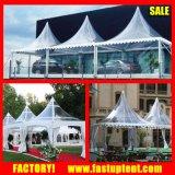 Wasserdicht, UV einfaches widerstehen installieren Gazebo-Kabinendach-Zelt für Hochzeits-Ereignis-Empfang