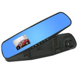Video H. 264 Car DVR Black Box H5 con 1080P HD 2.7 Inch Ultra-Thin Bluetooth Mirror e visione notturna di Dual Lens