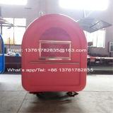 Горячим тележка еды пиццы сбывания подгонянная торговым автоматом передвижная (ZC-VL01)