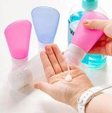 Tsaは小型小さい携帯用空の柔らかいSqueezable詰め替え式の漏出証拠航空会社のシリコーンの折りたたみ管の液体のShampの装飾的な瓶旅行びんの容器を承認した