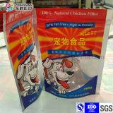 Sac zip-lock comique d'empaquetage en plastique d'aliments pour chiens