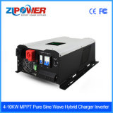 1-12kw de zonne Hybride PV van de Omschakelaar Omschakelaar van de Macht met Lader MPPT