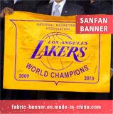 Флаг спортов, рекламируя флаг