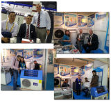 Salvar la energía Cop5.32 Dhw casero 60deg c 220V Tankless 5kw 260L, 7kw 300L, CO2 termal solar híbrido del 80% de la bomba de la pompa de calor del aire de 9kw 300L