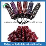 Компактные телескопичные складывая зонтики для подарка промотирования