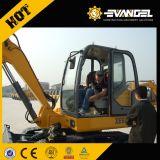 Excavador de la correa eslabonada de la tonelada Xe40 de XCMG 4 con el motor de Yanmar