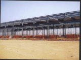 Light prefabricado Gauge Steel Structure con Different Tons Crane