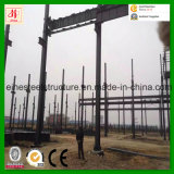 Godown prefabricado de la estructura de acero a África