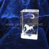 Персонализированный гравировальный станок кристалла лазера зодчества 3D портрета