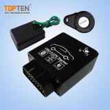 Perseguidor do OBD GPS do plugue & do jogo com diagnósticos TK228-ER de RFID & de Bluetooth