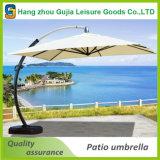 Im Freien Handelsluxuxreklameanzeige-faltender Garten-Regenschirm