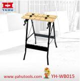 Banc de travail en bois pliant en carré de 20 carrés en MDF (YH-WB015)