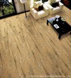 Azulejo de suelo de madera rústico de azulejo de la porcelana del material de construcción del diseño (WR-IW6903)