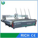 Vidrio de corte de máquina del jet de agua de la alta exactitud del certificado del Ce