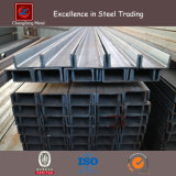 Schwarz/warm gewalzter U Form-Stahlkanal-Oberflächenstahl der Galvanisierung-
